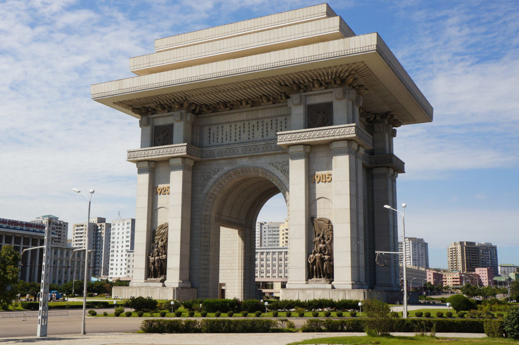 Arch of Triumph Pyongyang North Korea