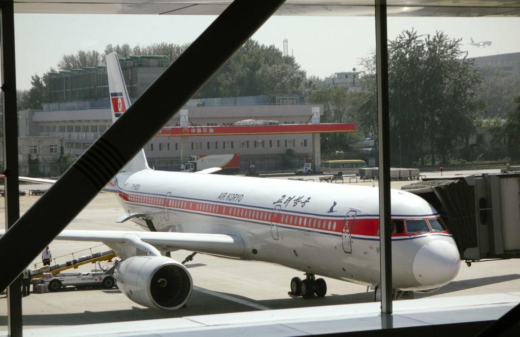 Air Koryo Tuplolev TU204-300 in Beijing
